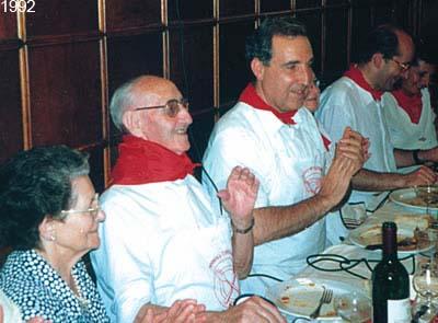 El Maestro Turrillas homenajeado por Napardi. 1992.